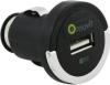 фото Универсальное автомобильное зарядное устройство Muvit USB с кольцом