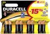 фото Батарейки Duracell LR6-8BL Basic
