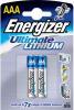 фото Батарейки Energizer FR03-2BL L92