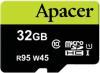 фото Apacer MicroSDHC 32GB Class 10 Ultra UHS-1 + SD adapter