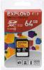 фото EXPLOYD SD SDXC 64GB Class 10 UHS-1 80 Мб/с