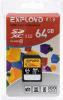 фото EXPLOYD SD SDXC 64GB Class 10 UHS-1 95 Мб/с