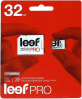 фото Leef MicroSDHC 32GB Class 10 Pro + SD adapter