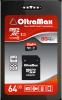 фото OltraMax MicroSDXC 64GB Class 10 UHS-1 80 Мб/с + SD adapter