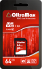 фото OltraMax SD SDXC 64GB Class 10 USH-1 45 Мб/с