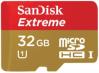 фото SanDisk MicroSDHC 32GB Class 10 Extreme UHS-I + SD адаптер