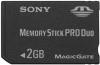 фото Sony Memory Stick PRO DUO 2GB MSX-M2GST/X