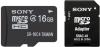 фото Sony MicroSDHC 16GB Class 4 + SD адаптер