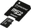 фото Transcend MicroSDHC 8GB Class 10 + SD адаптер TS8GUSDU1