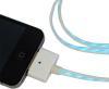 фото Кабель со световой индикацией Oristechу micro USB