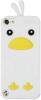 фото Накладка на заднюю часть для Apple iPod touch 5G MBM Kiki птичка