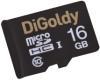 фото Digoldy MicroSDHC 16GB Class 10 + SD adapter