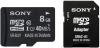 фото Sony MicroSDHC 8GB Class 10 + SD адаптер