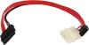 фото Кабель SATA/SlimSATA-Molex SunPro Slimline SATA 6+7P/SATA 7P+Power