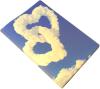 фото Обложка для автодокументов Эврика N15 Облака - сердца
