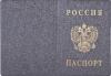 фото Обложка для паспорта 2203.В106