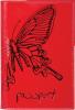 фото Обложка для паспорта Askent бабочка О.14.NK