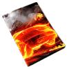 фото Обложка для паспорта Эврика N159 Машина огненная