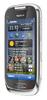 Телефон Nokia GSM C7-00 металлик - фотография 3.