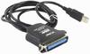 фото Кабель USB 2.0 AM-LPT VCOM VUS7052 1.2 м