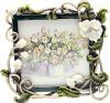 фото Фоторамка Jardin D'ete Белые цветы HS-25011C