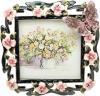фото Фоторамка Jardin D'ete Розовые цветы HS-25010B