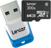 фото Lexar MicroSDXC 64GB UHS-I High Speed 300X + USB Reader