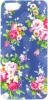 фото Накладка на заднюю часть для Apple iPhone 5S Lux blue flower + защитная пленка