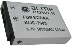 фото Аккумулятор для Kodak EasyShare V803 Acmepower KLIC-7003