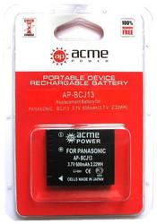 фото Аккумулятор для Panasonic Lumix DMC-LX5 AcmePower BCJ13