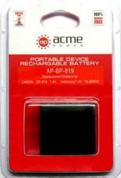 фото Аккумулятор для Canon HF10 AcmePower AP BP-819