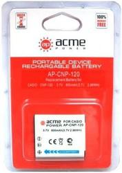 фото Аккумулятор для Casio Exilim EX-S200 AcmePower AP CNP-120