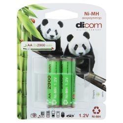 фото Аккумулятор Dicom Panda AA-2900 2 шт