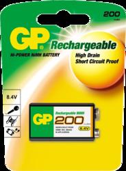 Фото аккумуляторной батарейки GP 20R8H-BC1