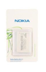 Фото аккумуляторной батареи Nokia BLD-3