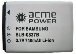 фото Аккумулятор для Samsung Digimax L70 AcmePower SLB-0837B