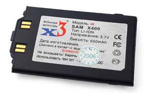фото Аккумулятор для Samsung X400