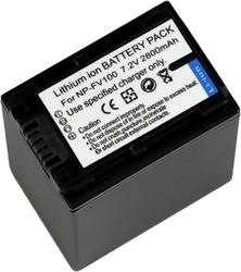 Фото аккумулятора для видеокамеры Sony HDR-CX250E NP-FV100