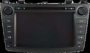 Фото штатного головного устройства для Mazda 3 (от 2010 года) Trinity MS-ME1011