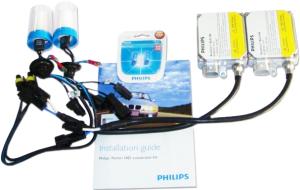 Фото комплект ксенона Philips H1 6000K