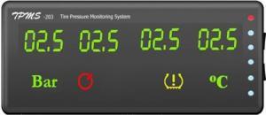 Фото набор датчиков давления в шинах ParkMaster TPMS 6-08