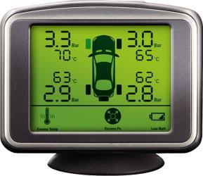 Фото система контроля давления в шинах ParkMaster TPMS 4-06