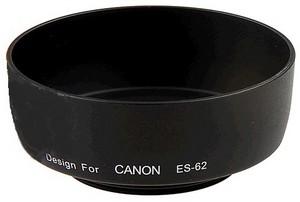 фото Бленда для объектива Canon EF 50mm f/1.8 II Dicom ES-62