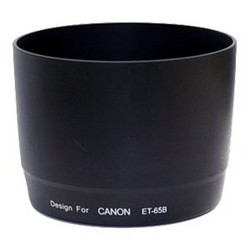 фото Бленда для объектива Canon EF 70-300mm f/4-5.6 IS USM Flama FL-ET65B-F