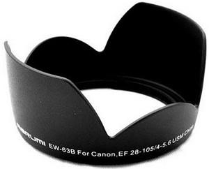 фото Бленда для объектива Canon EF 28-105mm f/4.5-5.6 USM Marumi Zoom EW-63 B