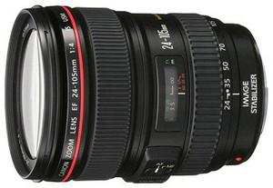 фото Объектив для фотоаппарата Canon EF 24-105mm F/4L IS USM