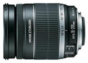 фото Объектив для фотоаппарата Canon EF-S 18-200mm F/3.5-5.6 IS