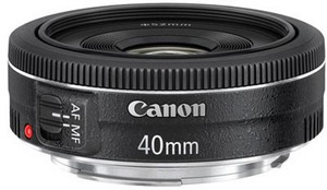 фото Объектив для фотоаппарата Canon EF 40mm F/2.8 STM