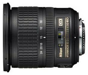 фото Объектив для фотоаппарата Nikon 10-24mm F/3.5-4.5G ED AF-S DX Nikkor