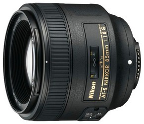 фото Объектив для фотоаппарата Nikon 85mm F/1.8G AF-S Nikkor